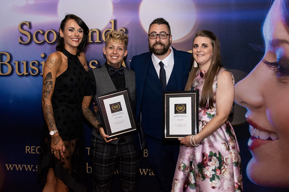 Dumfries and Galloway Retail Business Awards 2019 winners photos