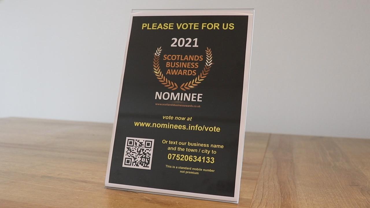 scotlands business awards instore pos 2021